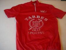 bike jersey vintage Tarbes Tour of High Pyrenees red
