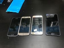 Lot Of 3 Samsung Galaxy S6 And 1 Note 5 Cracked Screen & LCD/NO POWER AS IS! C10