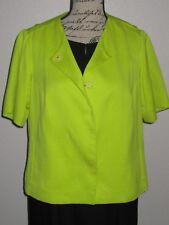 Piazza Sempione Short Sleeve Jacket-Size 8-Medium-Italy