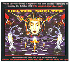 HELTER SKELTER - TIMELESS (DRUM N BASS CD'S) 9TH BIRTHDAY 31/10/1998
