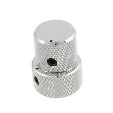 NEW - Gotoh VK15T / VK18T Mini Stacked Concentric Knob for 6mm/8mm Pots - CHROME