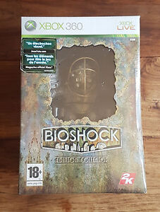 BIOSHOCK Édition Collector Jeu Xbox 360 Neuf Sous Blister VF