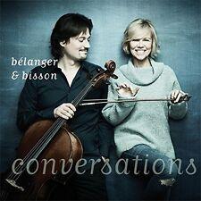 Conversations - Vincent & Anne Bisson Belanger (2017, CD NEU)