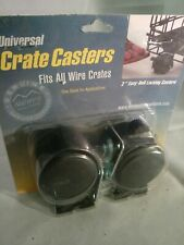 Midwest universal crate casters