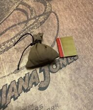 Hot Toys DX05 Indiana Jones Raiders Lost Ark 1/6 sand bag + journal