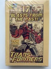 TRANSFORMERS TOP TRUMPS CARDS BRAND 17 BLASTS FROM THE PAST HASBRO