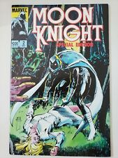 MOON KNIGHT SPECIAL EDITION #2 (1983) MARVEL COMICS ORIGINAL WRAP-AROUND COVER!