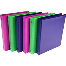 """Samsill - MP28398 - Value View 1"""" Fash Asst Binders - Pack of 6"""