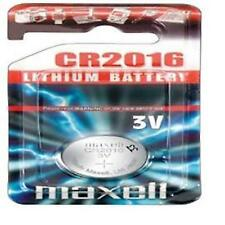 7 X Maxell Cr2016 Coin Cell Batteries Button Battery