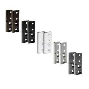 2x Alluminio Nastro Cerniera per Zanzariera, Zanzariere, Finestra, IN 5 Colori