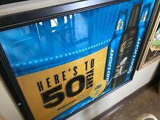 "Bud Light ""Here's to 50 Years"" Bar Mirror"
