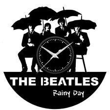 Orologio disco vinil clock orologio da parete  The beatles rainy Day