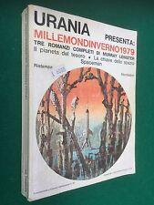 URANIA Millemondi Inverno 1979 , Murray LEINSTER / 3 Romanzi Libro Fantascienza