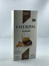 10 Cafe Royal Kapseln Nespresso Flavoured Edition Almond 16 Sorten 6,38€/100gr