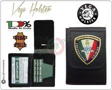 Portafoglio + Placca GG Guardia Giurata Prevenzione C. Vega Holster Italia 1WD