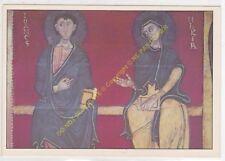 CP TABLEAU CERDAGNE ANONYME DE VALLTARGA Saint Jean et la Vierge