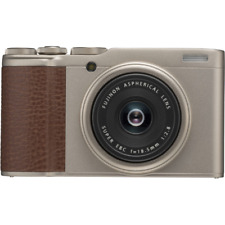 Fujifilm XF10 Digital Compact Camera: Champagne Gold