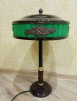NARKOMOVSKAYA Stalin's lamp antique Soviet USSR hammer and sickle 1930s