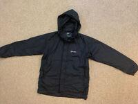 Women's Berghaus Waterproof Aqua Foil Jacket Size 8 / Black