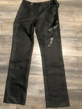 Brand New Valentino Jeans Women's Dress Pants 28 x 32 Black 300$$