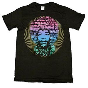 Jimi Hendrix Offiziell T-Shirt Afro Redefreiheit Psychedelische 60's Lsd Hey Joe