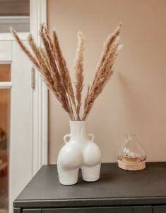 Human Bum Ass Vase Resin Nude Body Vase for Flowers or Pampas