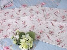 SET of 2 Romantic Chic *Abby Rose* Standard PILLOW SHAMS Pillowcases NEW!