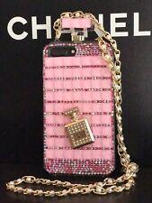Pink Bling Diamond Rhinestone Perfume Bottle Phone Case Cover Iphone 7