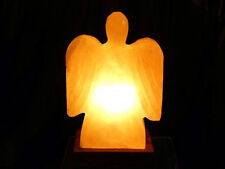 "Himalayan SALT LAMP ""ANGEL"" Shape Unique Ionizer"