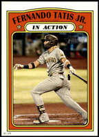 Fernando Tatis Jr. 2021 Topps Heritage 5x7 #138 /49 Padres In Action