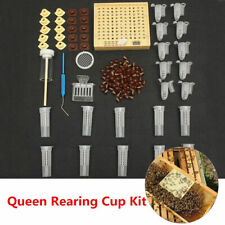 155 Pcs Beekeeping Queen Rearing Cup Kit Cultivating Box Queen Bee Catcher Tools