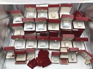 Genuine Cartier Empty Watch Box Case 24 Set Travel Pouch 8 Set 210302032 A366