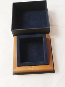 GENUINE BAUME & MERCIER GENEVE PRESENTATION WATCH BOX