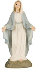 VIRGIN MARY OUR LADY MIRACULOUS 125mm STATUE CRUCIFIXES CANDLES PICTURES LISTED