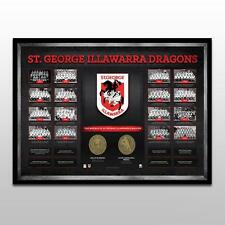 St George Illawarra Dragons Historical Series – Framed