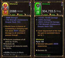 Diablo 3 ROS ps4 [Softcore] Whirl Barbar modifizierte Weapon Bundle Instant Ebene!
