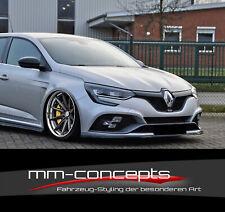 CUP Spoilerlippe für Renault Megane 4 IV RS FL Frontspoiler Spoilerschwert Lippe