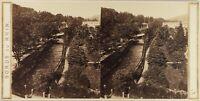 Germania Baden-Baden Bord Del Reno , Foto Stereo Vintage Albumina Ca 1865