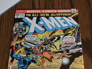 X-Men 97 Marvel Comics 1st Lilandra Havok Polaris VF/NM
