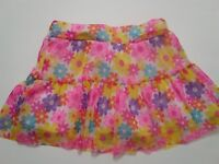 Baby Toddler Girls 24 Month 2 NICKELODEON Floral Pink Multi Skort Skirt Shorts
