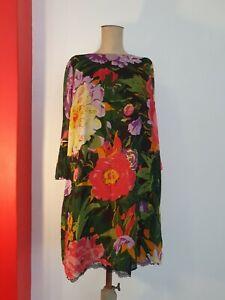 Twin Set Simona Barbieri Dress 12 Pockets Floral Cocktail Party TWINSET NEW