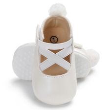 Newest Princess Ballet Dress Shoes Infant Toddler Soft Leather Sole First Walker