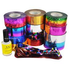 Decorazioni multicolore con glitter per unghie