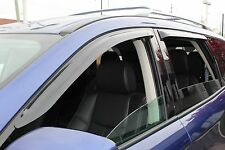 Tape-On Wind Deflectors for a 2013-2017 Nissan Pathfinder