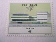 1987 Madeira Europa Stamp - Modern Architecture u/m Mi.115, Z10