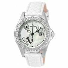 New Invicta 23644 Angel Mother of Pearl Dial Ladies Watch