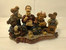 1998 Boyds Bears & Friends Work Is Love Made Visible Figurine #227803 hd826