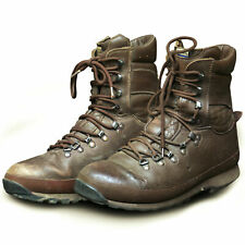 BRITISH ARMY ALT-BERG BOOTS - BROWN - GRADE 2  - VARIOUS SIZES - CADET BOOTS