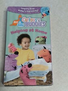 Curious Buddies Helping At Home VHS Tape Nick Jr. Baby