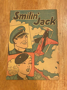 SMILIN' JACK Popped Wheat Cereal Giveaway Promo (1947)1938 Reprints Full Color